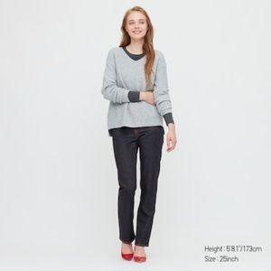 Uniqlo Slim Straight High Rise Jeans NWT